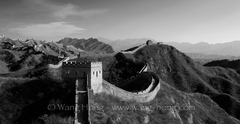 Jinshanling section of the Great Wall around the Chinese New Year in 2012 金山岭长城