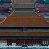 Shenwu Gate, Forbidden City 景山万春亭上看故宫神武门