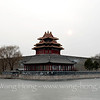 The north-eastern corner tower Of the Forbidden City, Beijing 故宫的东北角楼