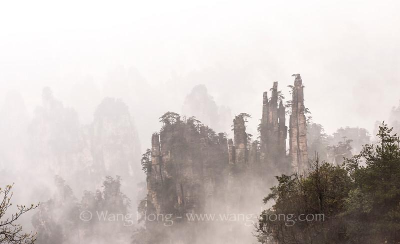 Yubifeng, Tianzishan, 天子山御笔峰