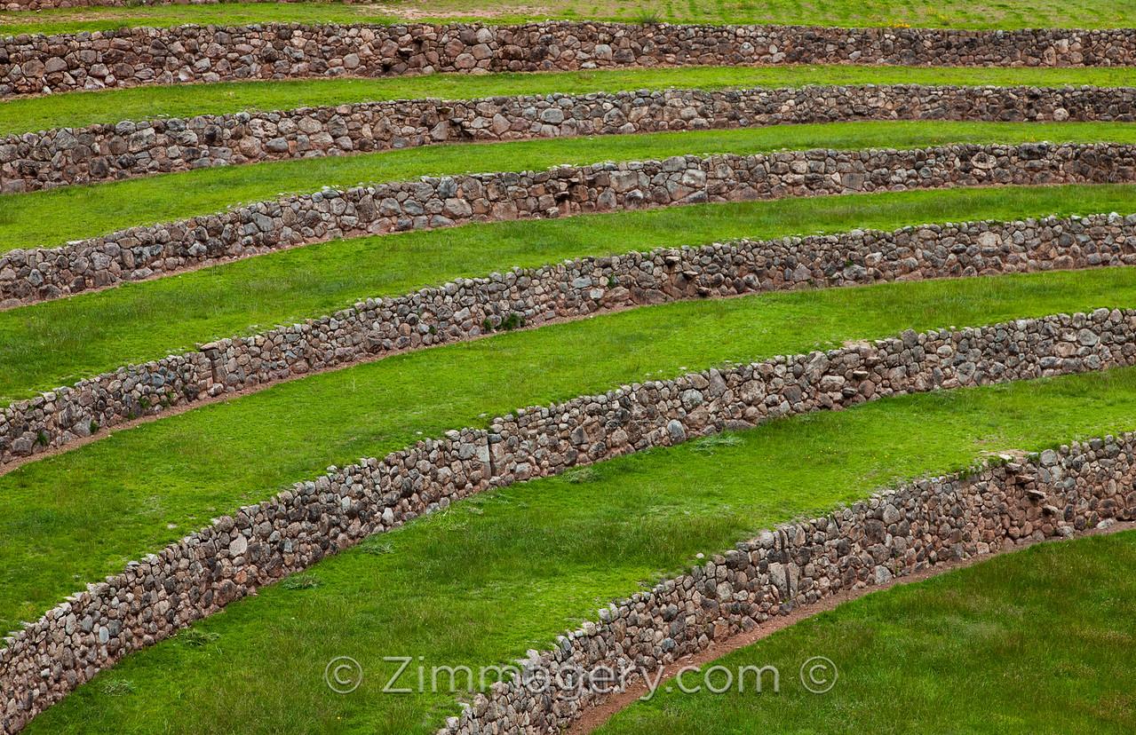Moray Circle Detail, Peru