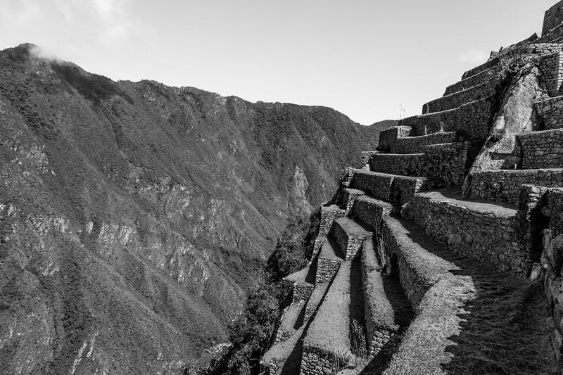 Machu Picchu Hillside Ruins
