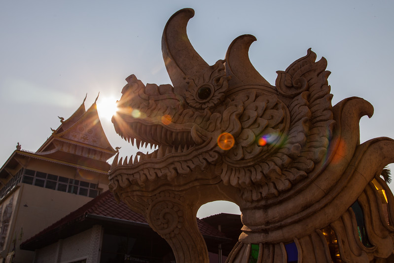 Dragon in Chiang Mai, Thailand