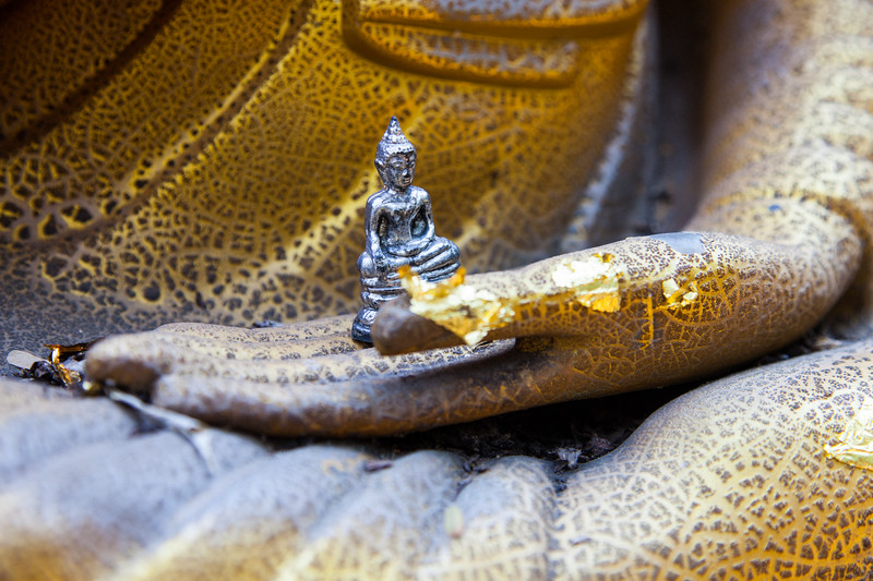 Small Buddha, Chiang Mai, Thailand