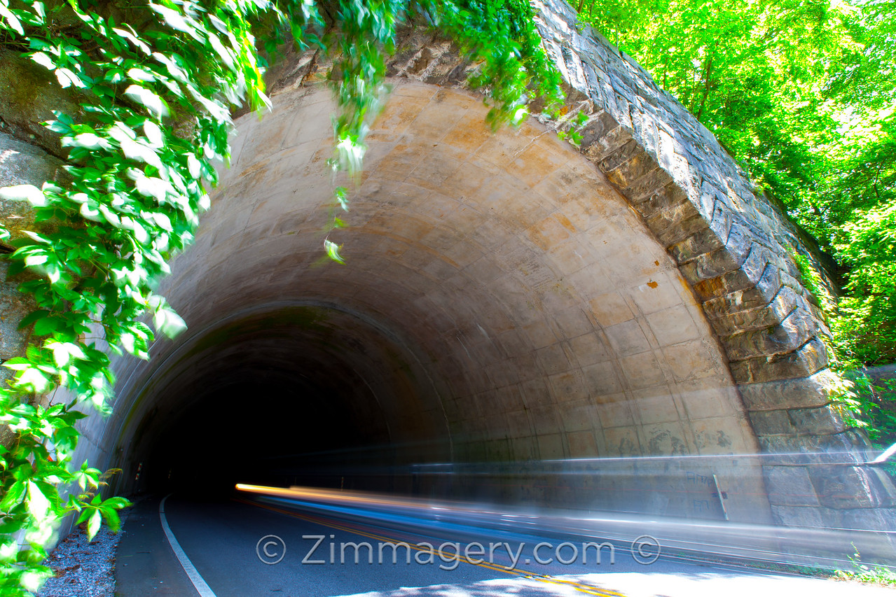 Blue Ridge Parkway Tunnel, North Carolina