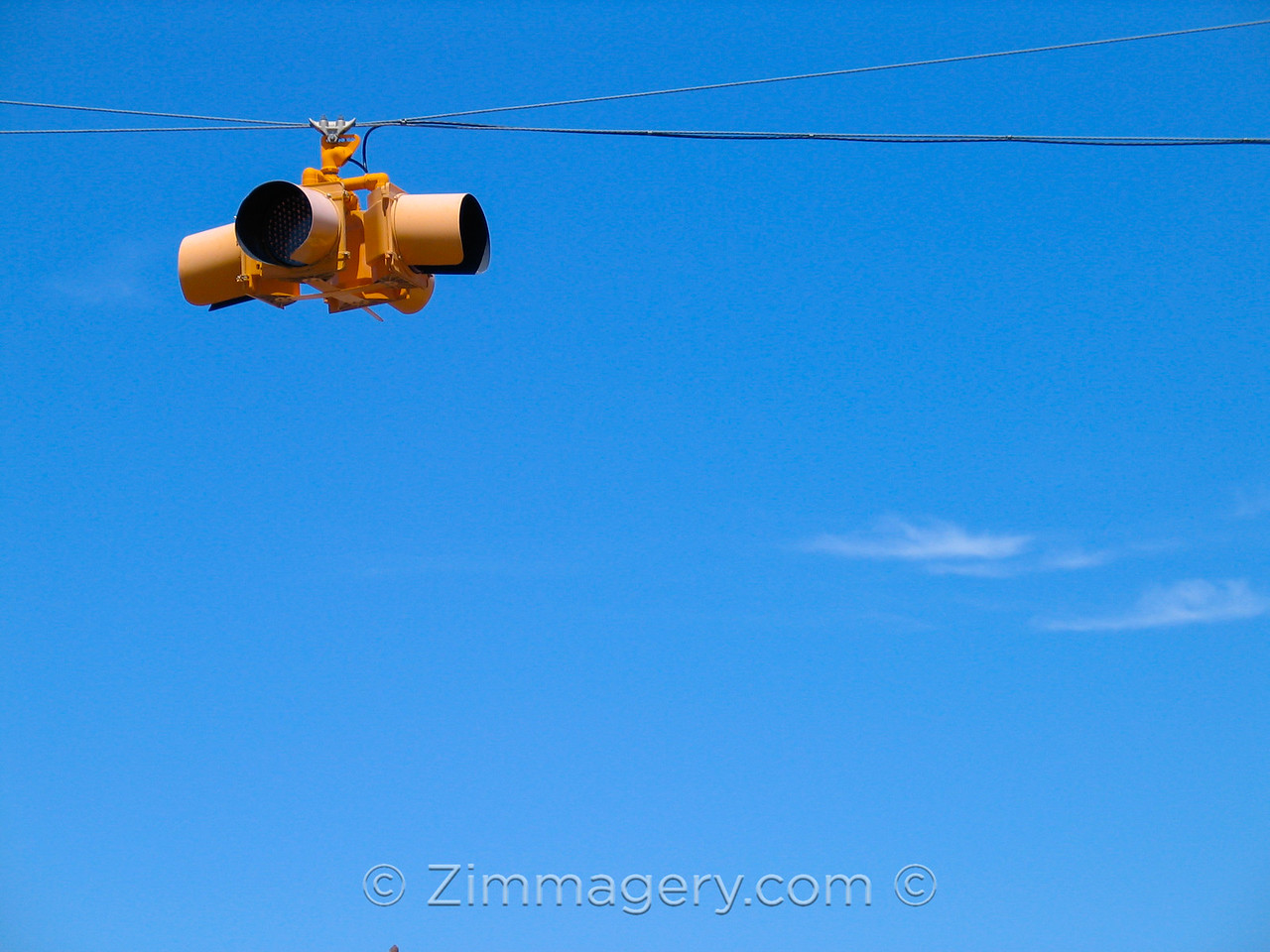 Traffic Signal, Marfa, Texas
