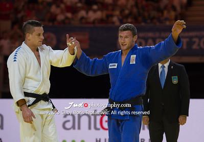 2017 Suzuki World Judo Championships Budapest Day5, Nemanja Majdov, ZGANK Mihael_BT_NIKON D4_20170901__D4B6760