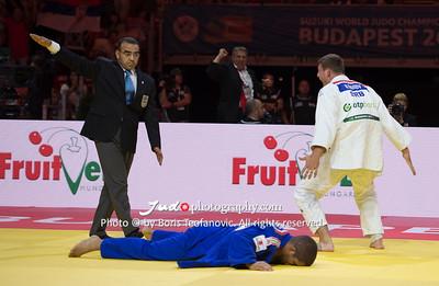 2017 Suzuki World Judo Championships Budapest Day5, Krisztian TOTH, Nemanja Majdov_BT_NIKON D4_20170901__D4B6417