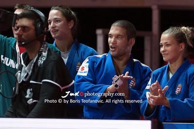 2017 Suzuki World Judo Championships Budapest Day7 Teams, Hedvig Karakas, Hungary, Krisztian TOTH_BT_NIKON D3_20170903__D3C5169