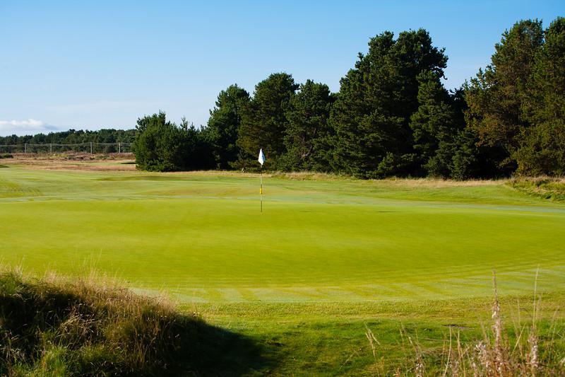 3rd hole at Glasgow Gailes Golf Club