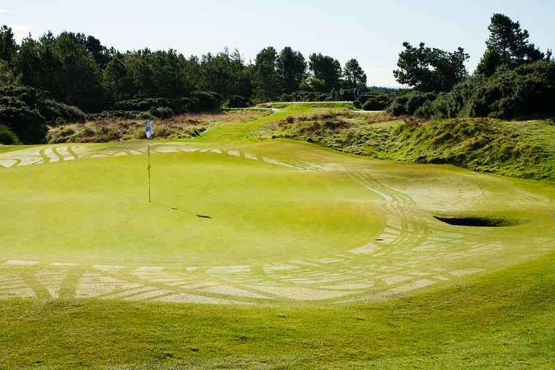 6th hole at Glasgow Gailes Golf Club