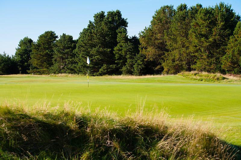 3rd Green at Glasgow Gailes Golf Club