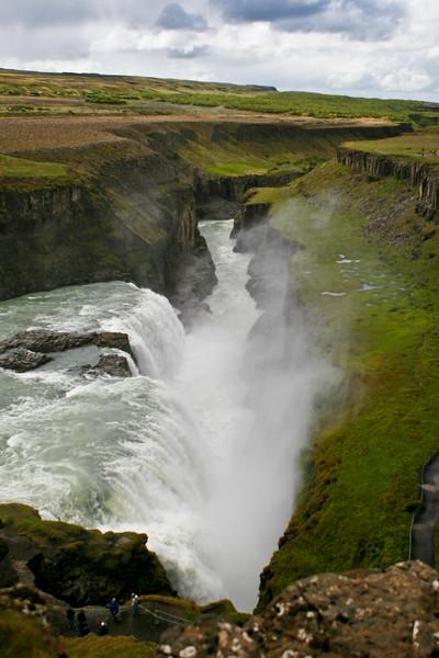 Gullfoss (Water fall)