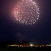 Fireworks display at Ogawara Lake,Misawa,Japan