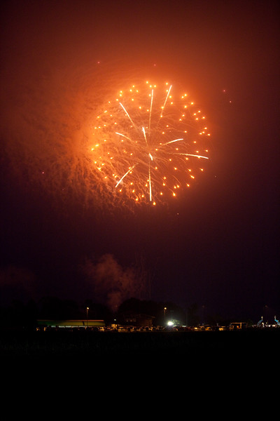 Fireworks at Misawa Ogawara Lake 25 July 2009