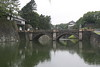 Imperial Palace Plaza, Double Bridge<br /> Center of Tokyo Japan