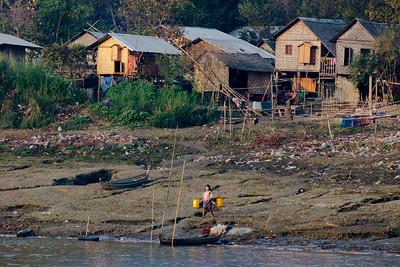 Village river side