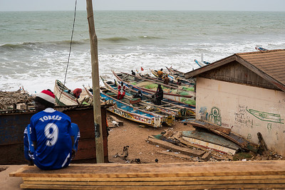 BAKAU 2014-01-09 Fishing village in the Bakau area, in the Gambia  Photo Maria Langen / Sverredal & Langen AB
