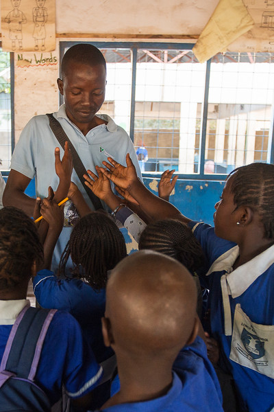 BAKAU 2014-01-06<br /> A support iniative for school kids in the Bakau lowwer basic, in the Gambia<br /> Photo Maria Langen / Sverredal & Langen AB