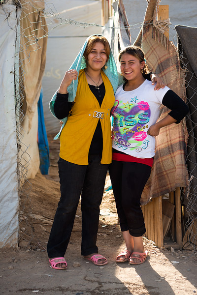 Iraq Kurdistan 20130913<br /> Women at the Domiz refugee camp in Kurdistan <br /> Photo Maria Langen / Sverredal & Langen AB