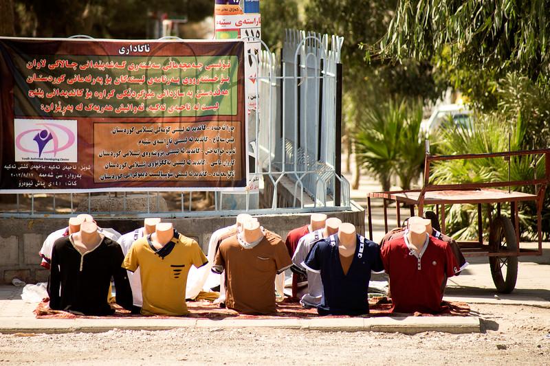Iraq Kurdistan 20130916<br /> Market in a small villiga in Kurdistan<br /> Photo Maria Langen / Sverredal & Langen AB