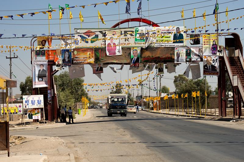 Iraq Kurdistan 20130913<br /> Campaign on the road of Kurdistan before the election <br /> Photo Maria Langen / Sverredal & Langen AB