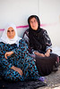 """Iraq Kurdistan 20130915 <br /> Women at a refugee camp close to the village of Basrma in Kurdistan. As many as 5000 Syrians refugees could be staying in this """"new"""" camp, waiting for the surrounding world to support them in where to go next<br /> Photo Maria Langen / Sverredal & Langen AB"""