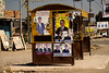 Iraq Kurdistan 20130913<br /> Campaigning before the election on a bus stop in Kurdistan<br /> Photo Maria Langen / Sverredal & Langen AB