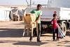 Iraq Kurdistan 20130913<br /> Armless boy and his father at the Domiz refugee campi in Kurdistan <br /> Photo Maria Langen / Sverredal & Langen AB