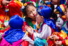 Children in traditional clothes