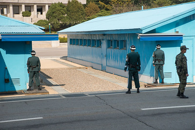 JSA ROK and UN guards