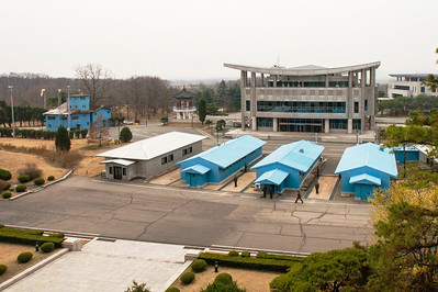 Panmunjom JSA meeting area