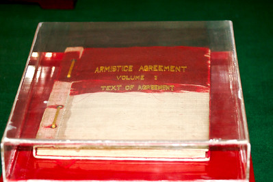 Armistice document