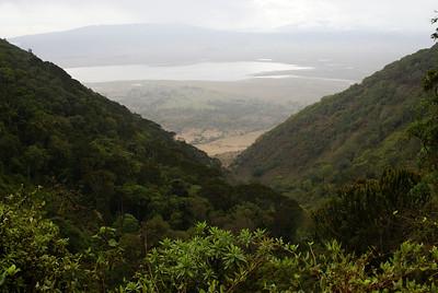 NGORONGORO 2007-12-13 Ngorongoro crater in Tanzania Photo Maria Langen / Sverredal & Langen AB