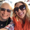 "Me & Dani on our ""Duck Tour"" of the streets of San Francisco"