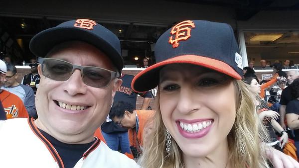 Me & my baseball buddy Dani