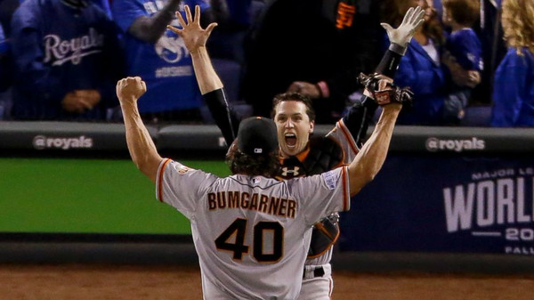 Mad Bum & Buster celebrate winning their 3rd World Series in 5 years! (again - not my photo)
