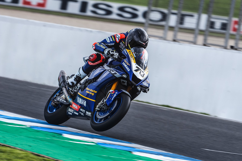 Loris Baz on the Ten Kate Yamaha R1 at Jerez
