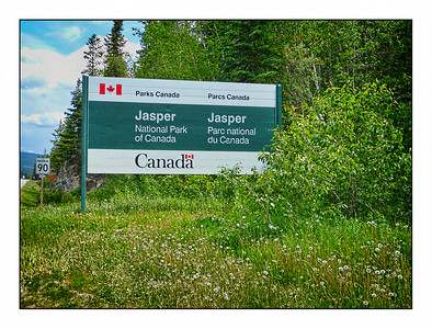 Jasper National Park, Alberta - Canada Over The Years.