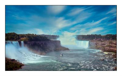 Niagara Falls, Ontario - Canada Over The Years.