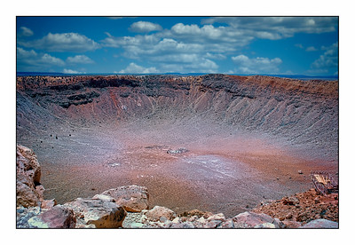 Meteor Crater Natural Landmark, Arizona, USA - 2007.