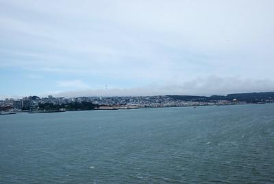 On Our Way Over To Alcatraz, San Francisco - California. USA - 2010.