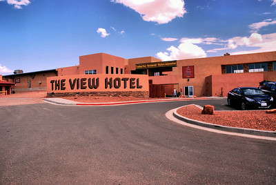 The View Hotel, Monument Valley Navajo Tribal Park, Utah, USA -2011.