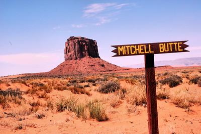 Monument Valley Navajo Tribal Park, Utah, USA - 2011.