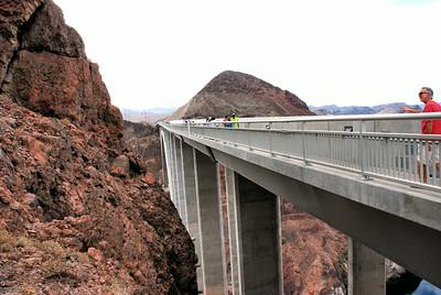 The New Hoover Dam By - Pass Memorial Bridge, Nevada, USA - 2011.