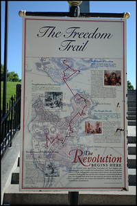The Freedom Trail, Boston, Massachusetts, USA - 2012.