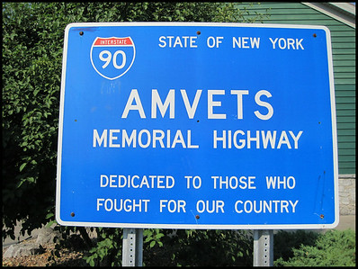 I-90 Amvets Memorial Highway, New York , USA - 2012.