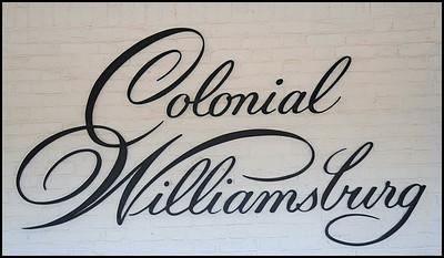 Colonial Williamsburg, Virginia,  USA - 2012.