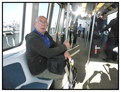Airport Shuttle, San Francisco, California, USA - 2015.