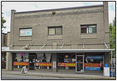 Bill's Diner, Mt Vernon, Washington State, USA - 2015.